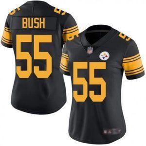 Women Steelers Devin Bush Rush Jersey